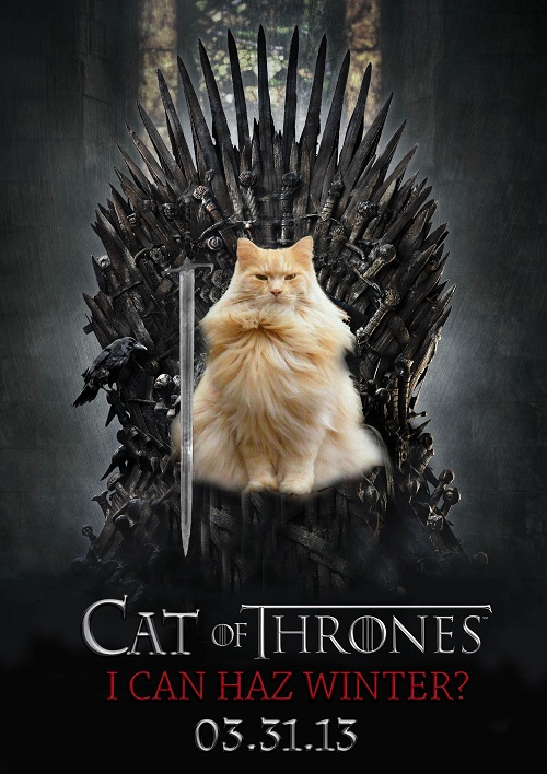 Cat of Thrones